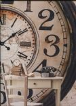 Hit The Road Clockwork Sand Wallpaper Wall Mural HTD17305 By Galerie